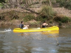 Activities include canoeing, fishing and swimming