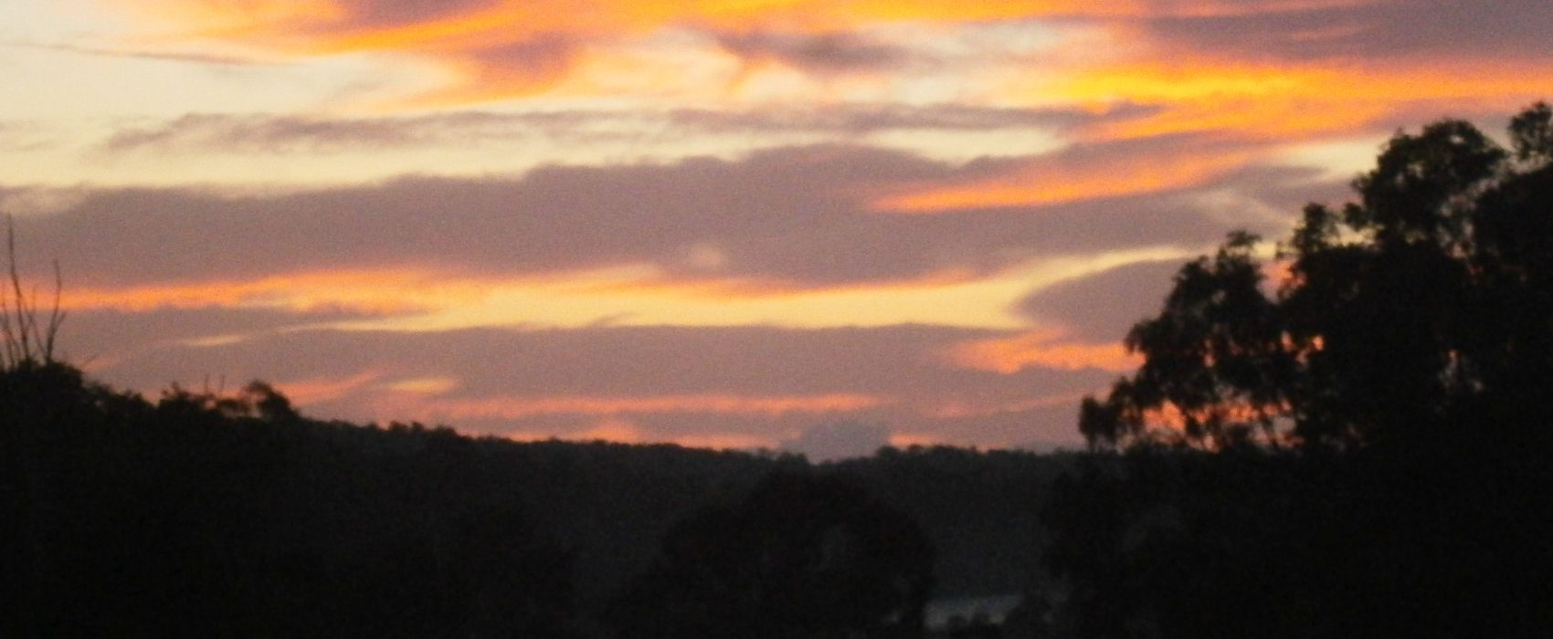 sunset at bungadoo